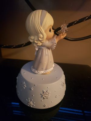 Precious moments musical figurine for Sale in Travelers Rest, SC