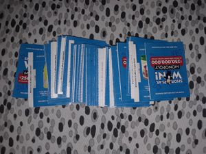 UNOPENED 64 Safeway Monopoly Tickets for Sale in Keizer, OR