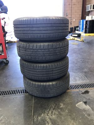 Used 17 inch tires and rims (5 spoke) for Sale in Las Vegas, NV