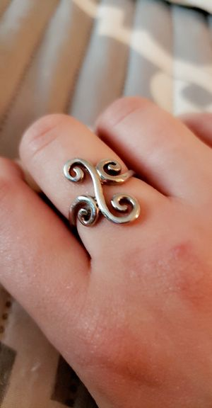 Snazzy silver ring size 9 for Sale in Manchester, CT