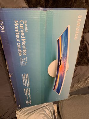 """Samsung 32"""" curved monitor for Sale in North Las Vegas, NV"""