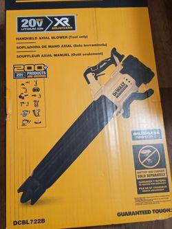 Sopladora De Walt Nueva Xr 20 Volts Tool Only for Sale in Garland, TX