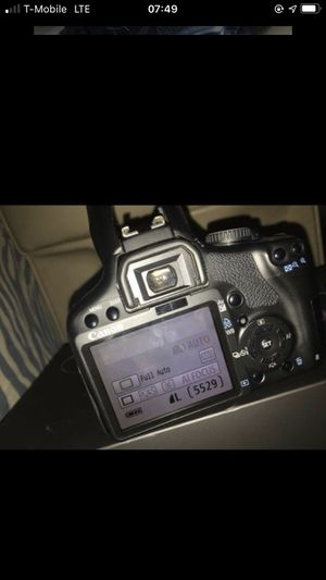 Canon rebel Tsi w lense 18-55mm for Sale in Azusa, CA