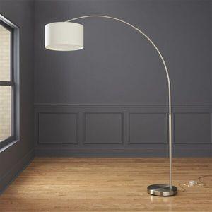 cb2 Big Dipper Silver Arc Floor Lamp for Sale in Los Angeles, CA