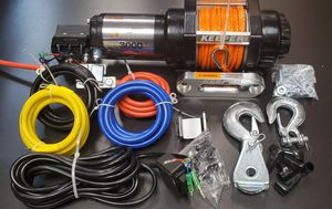 Winch 3,000 lbs. and Tie-Downs for Sale in Corona, CA