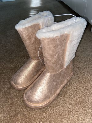 Brand New Michael Kors Toddler Girl boots for Sale in Fontana, CA