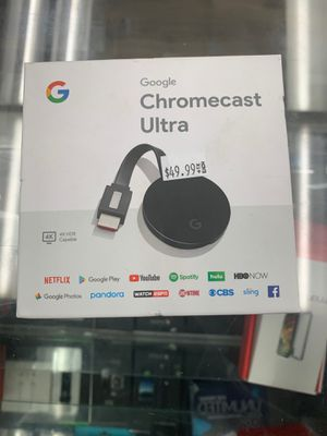Chromecast ultra by google for Sale in Sacramento, CA