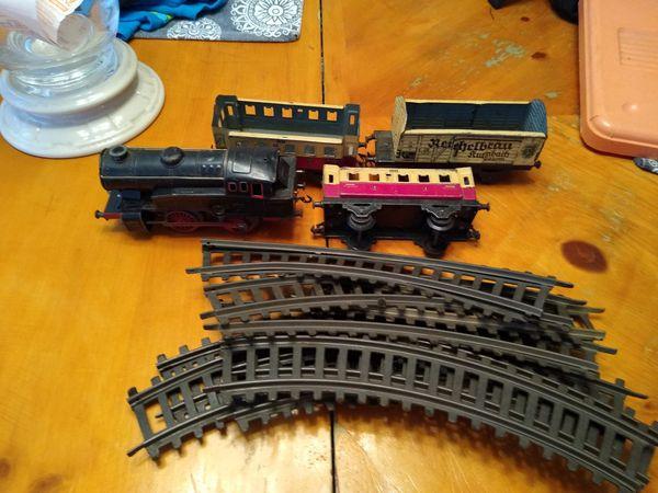 Fleischmann Made in US Zone Germany Clockwork Toy Train