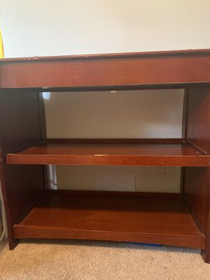 Wood changing table for Sale in Westland, MI