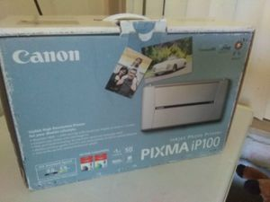 CANNON INJET PHOTO PRINTER PIXMA IP100 for Sale in Tampa, FL