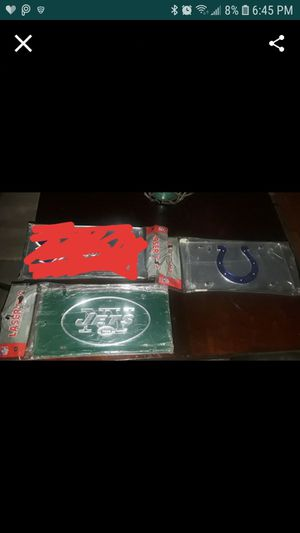 Last two.. Jets an Colts only..$10.. ea. for Sale in Fresno, CA