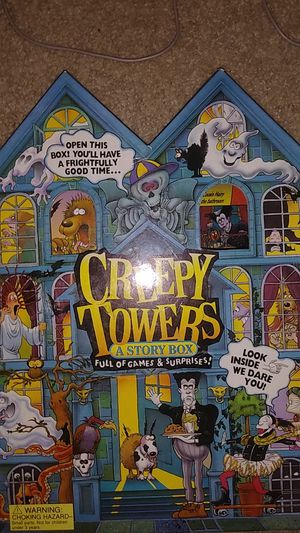 Creepy towers board game for Sale in Del Sur, CA