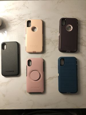 Otter box cases for iPhone X/Xs for Sale in Chaffee, MO