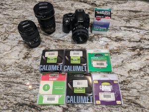 Nikon camera and lenses for Sale in Escondido, CA