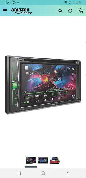"""Pioneer AVH-200EX Multimedia DVD Receiver with 6.2"""" WVGA Display, and Built-in Bluetooth for Sale in Dayton, OR"""