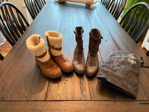 UGG BOOTS, PATAGONIA BOOTS, sizes 6.5. for Sale in Herndon, VA