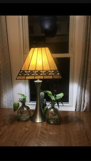 Antique stained glass lamp for Sale in Elmwood Park, IL