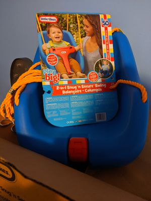 Little Tikes 2-in-1 Swing for Sale in MONTGOMRY VLG, MD