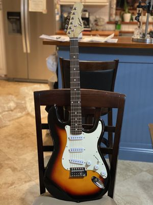 Kansas stratoscaster sunburst electric guitar for Sale in Margate, FL