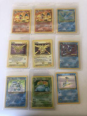 1995,96,98 Pokémon foil special cards! for Sale in Avondale, AZ