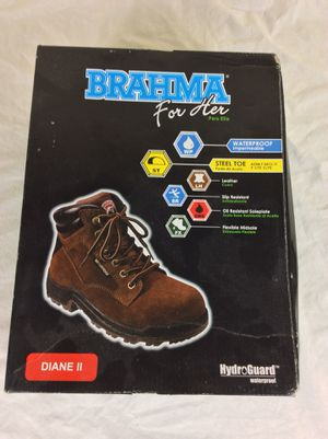 NEW Brahma Women's Diane II Leather Work Boot size 11 for Sale in Severn, MD