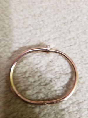 Nice Cartier bracelet 316 L stainless steel Rose gold for Sale in Washington, DC