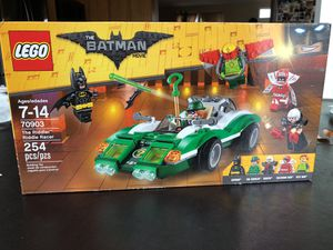 LEGO The Batman Movie Riddle Racer for Sale in Germantown, MD