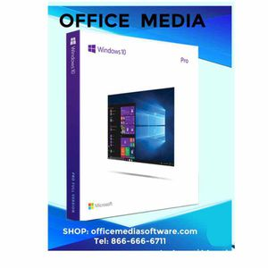 Microsoft Windows 10 pro download version for Sale in Los Angeles, CA