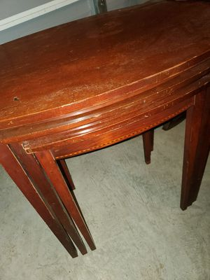 Mersman antique mahogany nesting tables model 7530 for Sale in Westerville, OH