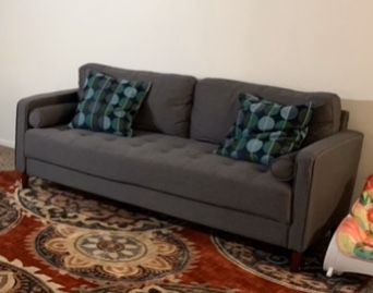 2 months old sofa with protection plan for Sale ( >100$ Saving)