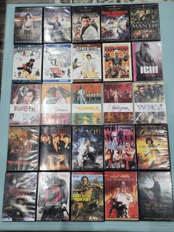 Martial Arts Foreign Movie Collection for Sale in El Paso, TX