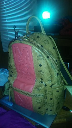Authentic MCM book bag for Sale in Inkster, MI