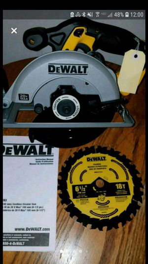 New dewalt 20v MAX circular saw [tool only] for Sale in Ashburn, VA