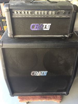 Crate full stack (guitar) for Sale in Goodyear, AZ