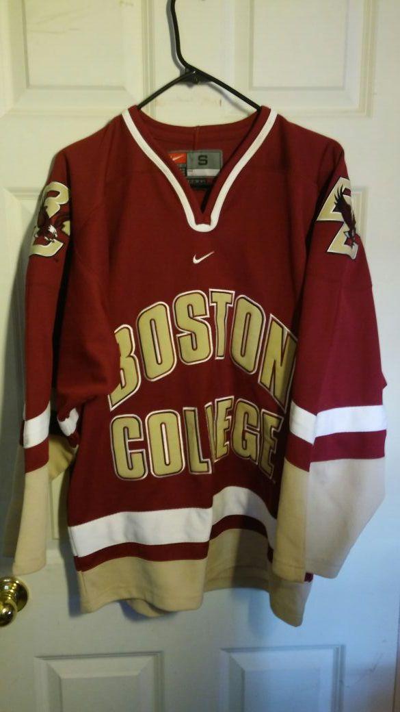 Boston College hockey jersey..