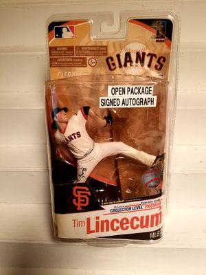 Tim Lincecum Signed Autograph 2010 Mcfarlane San Francisco Giants for Sale in Avondale, AZ