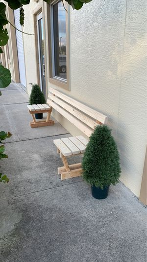 Social distancing bench, outdoor furniture for Sale in West Palm Beach, FL