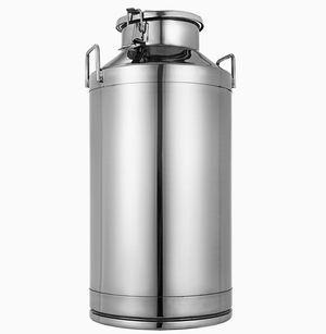 16 Gallon Stainless Steel Milk Bucket with Sealed Lid Heavy Duty for Sale in Colton, CA