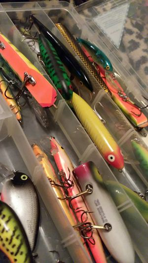 Quality assorted name brand lures for large fish for Sale in Pekin, IL