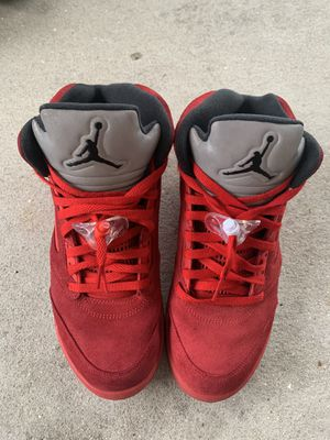 Jordan 5 Retro Red Suede for Sale in Fort Myers, FL
