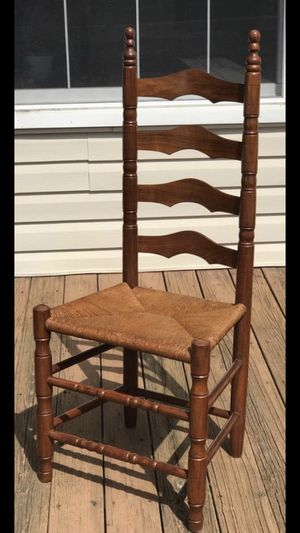Walnut Ladder Back Chair for Sale in Frederick, MD