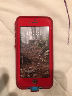 Red Authentic Lifeproof FRE for iphone 7/8 for Sale in Fairfax, VA