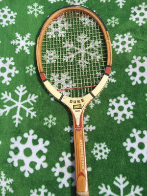 Duke M 400 Masterbuilt Vintage Wooden Tennis Racket for Sale in Houston, TX
