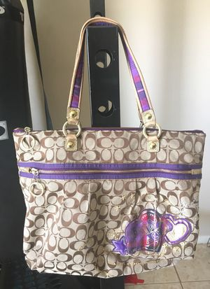 Poppy large Coach bag for Sale in Miami, FL