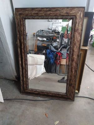 Wall mirror gold rust frame for Sale in Hialeah, FL