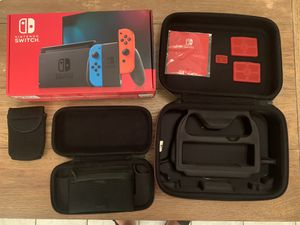Nintendo switch bundle like new in box for Sale in Greenville, SC