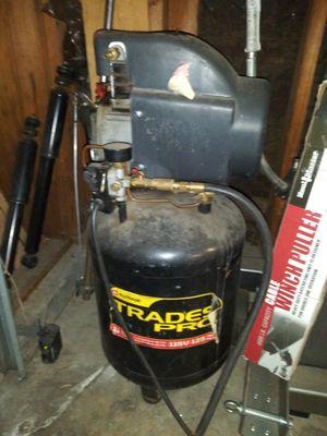 Trade pro oil cooled 11 gal Air compressor for Sale in Stockton, CA