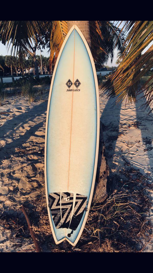 Surfboard GT surflines