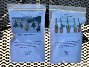 2 sewing craft ornaments kits for Sale in Irvine, CA