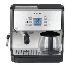 KRUPS XP2070 Programmable 10-Cup Coffeemaker/15-Bar Pump Espresso Machine for Sale in Saint Louis Park, MN